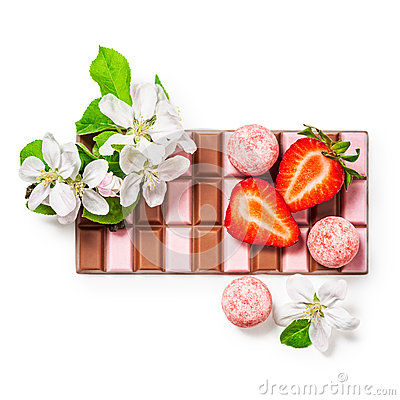 Free Strawberry Chocolate Stock Photo - 72595890