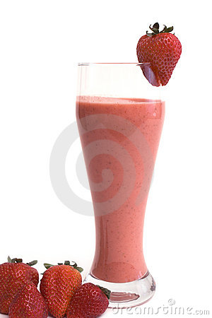 Free Strawberry Cocktail Royalty Free Stock Image - 3242216