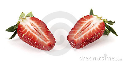 Strawberry cut