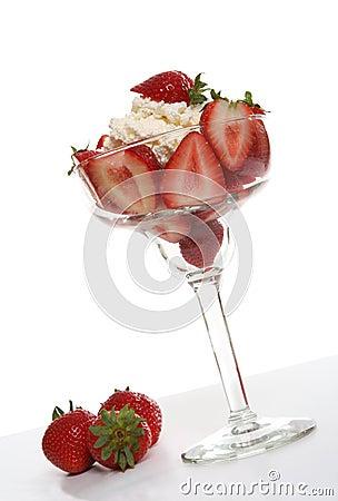 Free Strawberry Dessert Royalty Free Stock Photos - 3338118