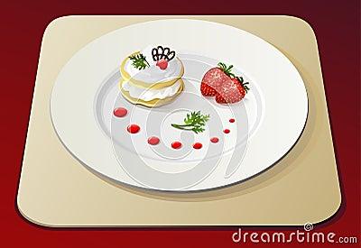 Strawberry dessert no.1