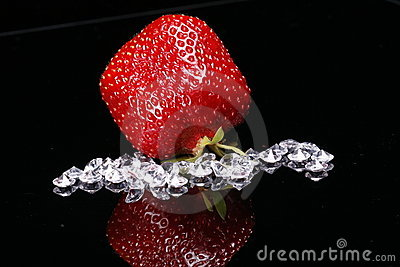 Strawberry and diamonds