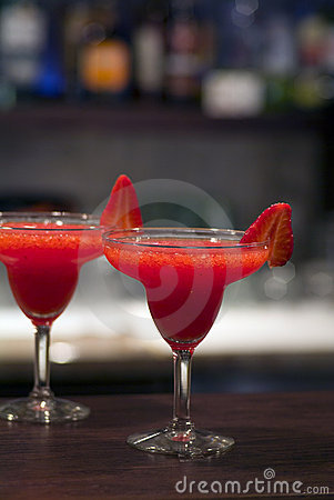 Strawberry fizz