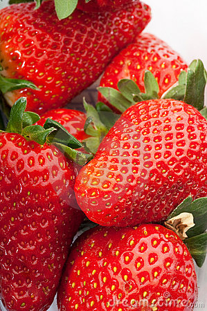 Free Strawberry Group Royalty Free Stock Photo - 13822155
