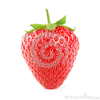 Free Strawberry Isolated On White Stock Images - 47006744