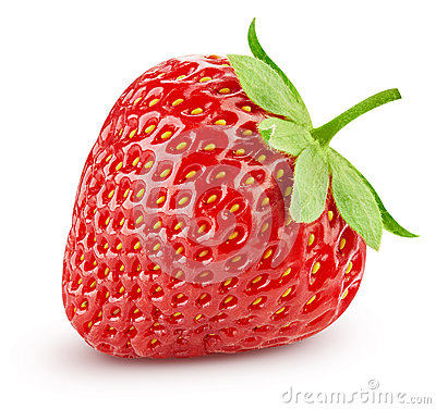 Free Strawberry Isolated On White Stock Images - 80534194