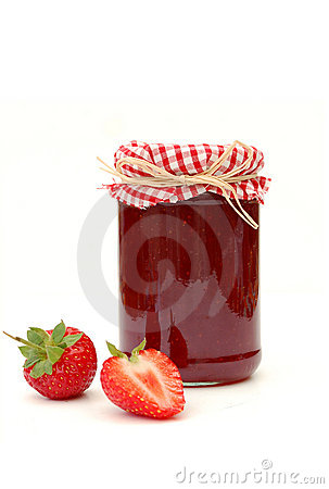 Strawberry Jam Stock Image - Image: 15916801