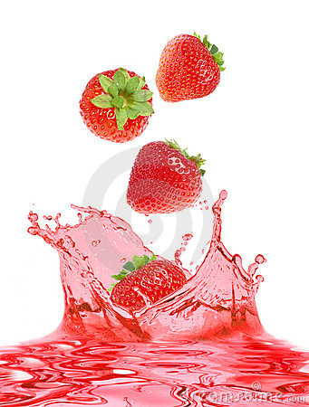 Strawberry and juice