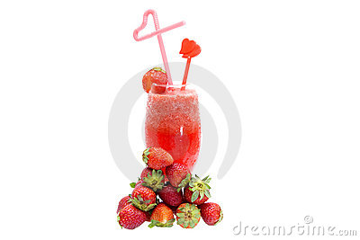 Strawberry juices