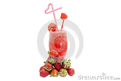 Strawberry juices
