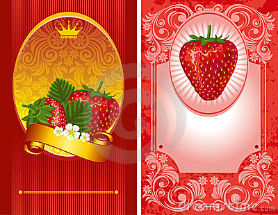 Strawberry label