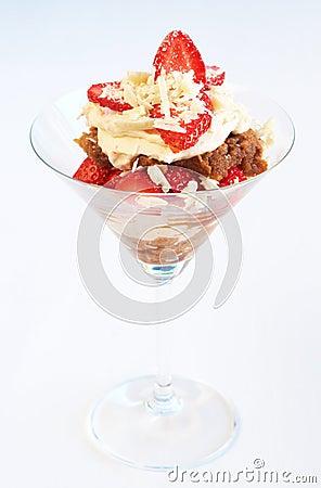 Strawberry and mascarpone tiramisu