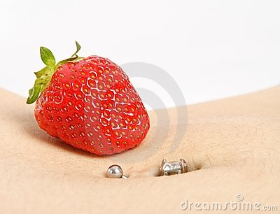 Strawberry Piercing