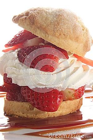 Free Strawberry Shortcake Stock Photo - 13093220
