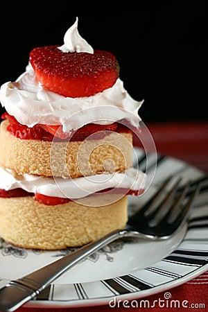 Free Strawberry Shortcake Royalty Free Stock Photo - 8841645
