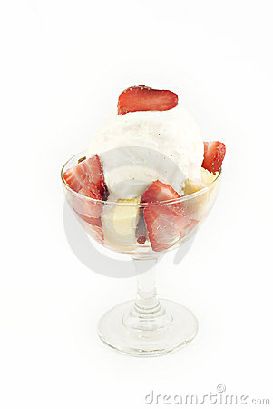 Free Strawberry Shortcake Parfait Royalty Free Stock Photography - 13496827