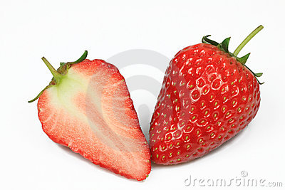 Strawberry with Slice