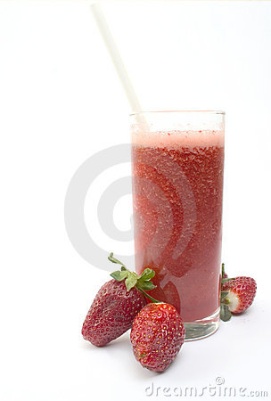 Free Strawberry Smoothie Royalty Free Stock Images - 106779