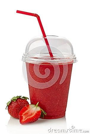 Free Strawberry Smoothie Stock Photo - 36135220