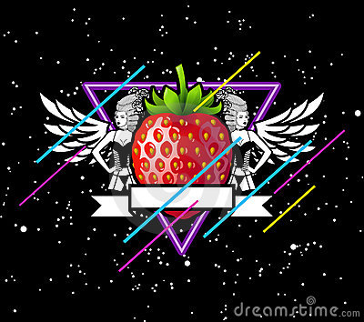 Strawberry In Space