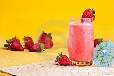 Strawberry Summer Drink