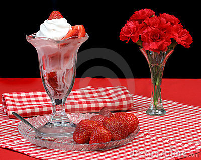 Strawberry Sundae