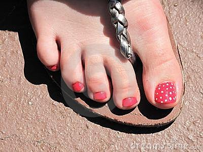 Strawberry toe