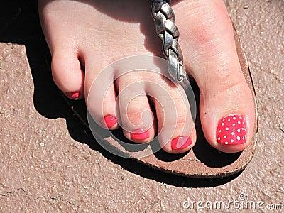 Strawberry toe