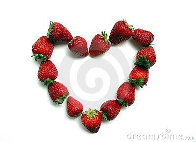 Strawberry Valentine s heart
