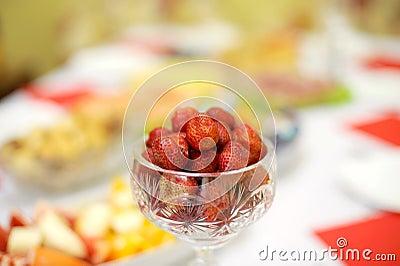 Strawberry in Vase
