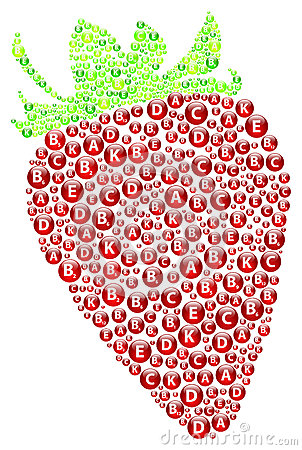 Strawberry Vitamins