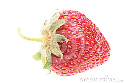 Strawberry On White Background Stock Images - Image: 24483844