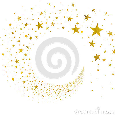 Free Stream Gold Stars Royalty Free Stock Images - 66075709