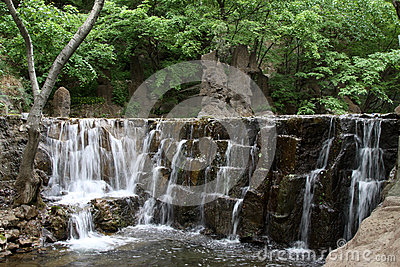 Stream In Mountain In A Geological Park Stock Images - Image: 28476274