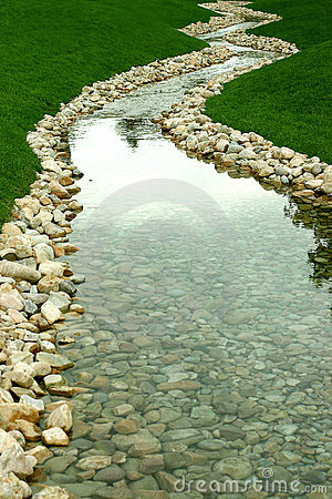 Stream and river of perspective
