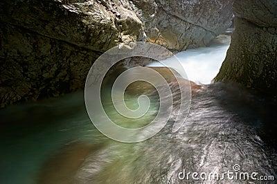 Stream Running Water