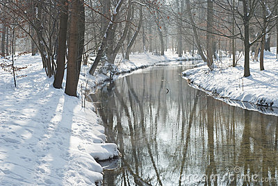 Stream and Snow