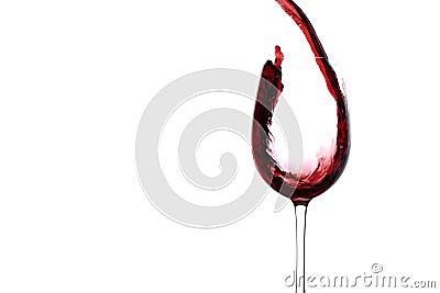Stream of wine