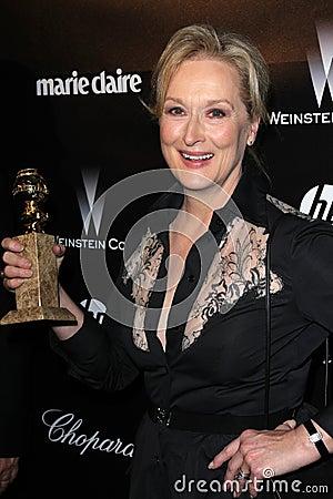 Streep meryl Редакционное Фотография