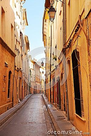 Street in Aix en Provnece