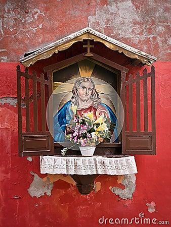 Street Altar in Venice