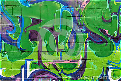 Street art Editorial Stock Image
