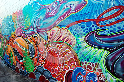 Street art in Australia, Airlie Beach Editorial Image