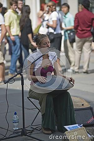 Street Artiste Editorial Photo