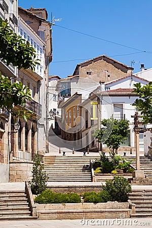 Free Street At Historical Part Of Monforte De Lemos Stock Photos - 60635453