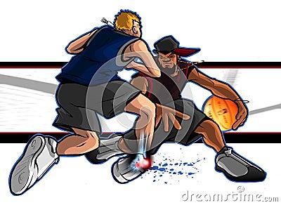 Street Ball Ankle Breaker