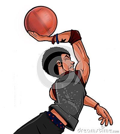 Street Ball basketball Streetballer Dunk