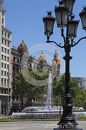 Street in Barcelona - Spain