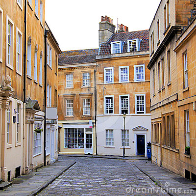 Street in Bath, England