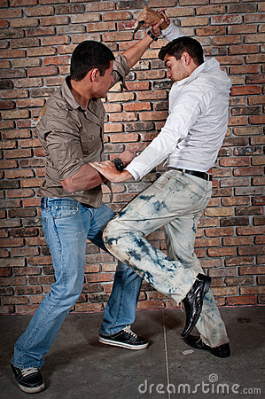 Bad Credit Credit Cards >> Street Boys Fight Stock Photos - Image: 9518373